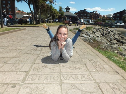 Charlotte loves Puerto Varas!