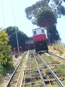 Cable car Valparaíso!