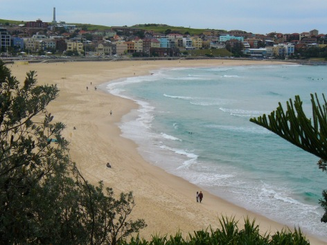 The famous Bondi Beach!
