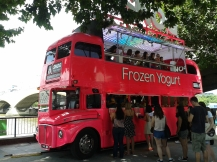 The Frozen Yogurt Bus - sweet!