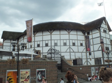 The Shakespeares Globe - a wonderful view!
