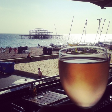 Summer, wine and good food - and most important; the ocean!