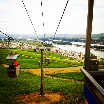 The cable car in Rüdesheim on the Rhine