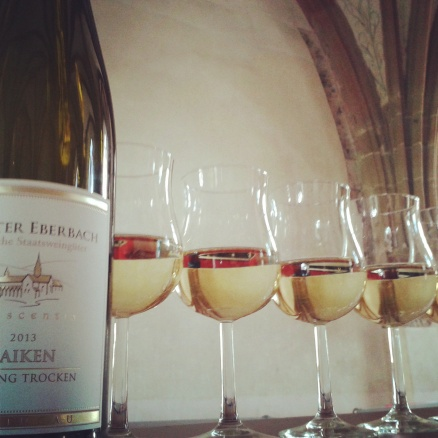 Wine tasting tour of the Eberbach Abbey near Eltville