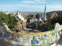 Barcelona seen from Park Güell
