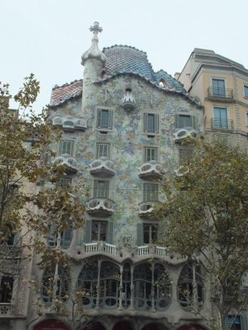 Casa Batlló of Gaudi