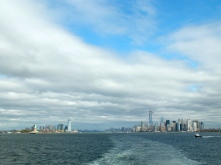 The Staten Island Ferry provides the best view of Manhattan, Brooklyn and the Statue of Liberty