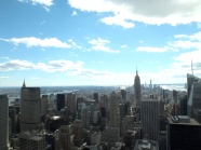 "Beautiful view from the ""Top of the Rock"""