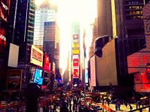 Hustle and bustle on Times Square - fascinating place!