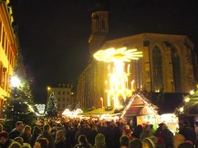 "Christmas magic in the ""Altstadt"" of Heidelberg!"
