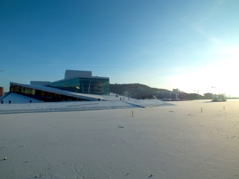 "The New Opera & Ballet and a frozen ""Oslo Fjord"" - true winter magic!"