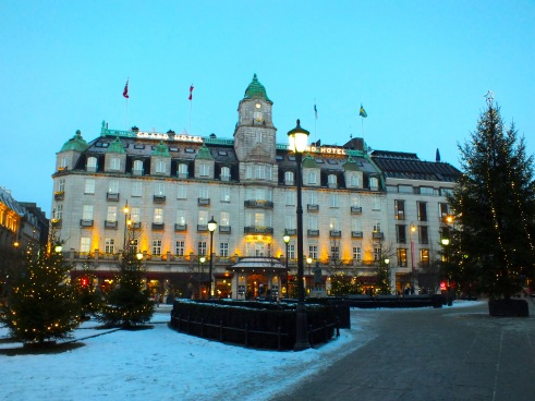 "The historic and dignified ""Grand Hotel"" in the city center was home to a number of important people visiting Oslo. Visit the hotels restaurant for at least coffee and cake to soak in the flair of the hotel."