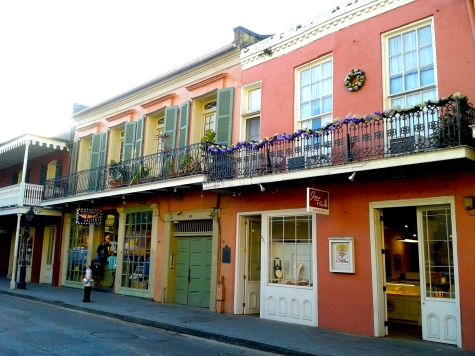 The French Quarter is full of nice buildings - all with their own charm.