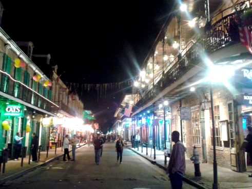 The Bourbon Street is one of the most famous streets in the world - my expactations was maybe too high, but I have to admit I was a little disappointed...!