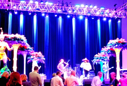 Concert at the Mardi Gras World!