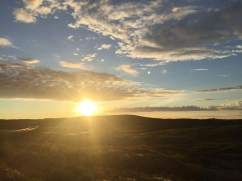 The midnight sun lights up the Norwegian summer in the north and caresses people all night with is gentle rays of sunlight.
