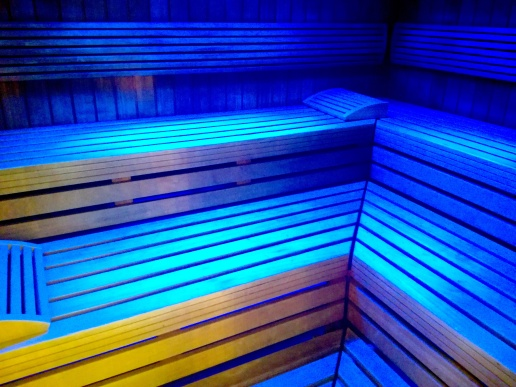 Finnish Sauna looks inviting